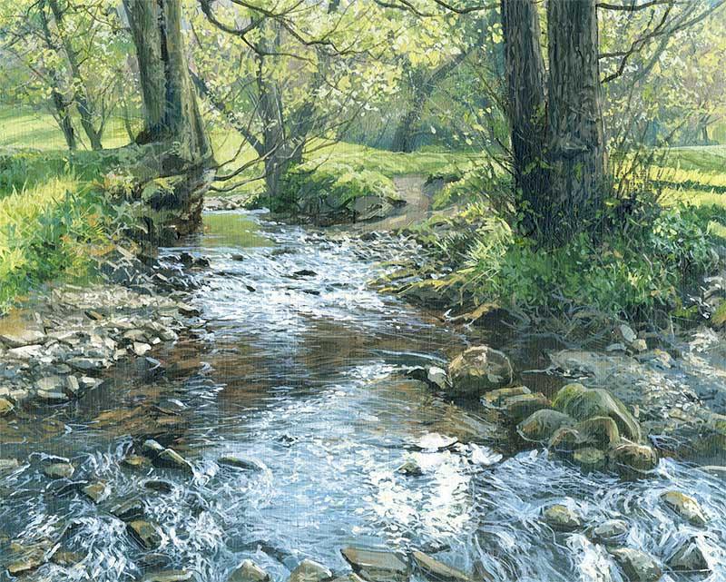 L'eau paisible des ruisseaux et petites rivières  Alista14