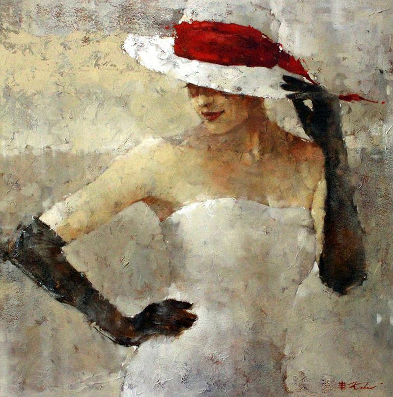 """Des élégantes  """"chapeautées"""" ... Andre_11"""