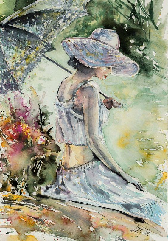 """Des élégantes  """"chapeautées"""" ... Anna_b10"""