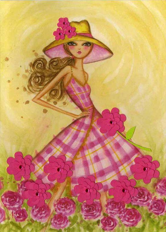 """Des élégantes  """"chapeautées"""" ... - Page 2 Bella_10"""