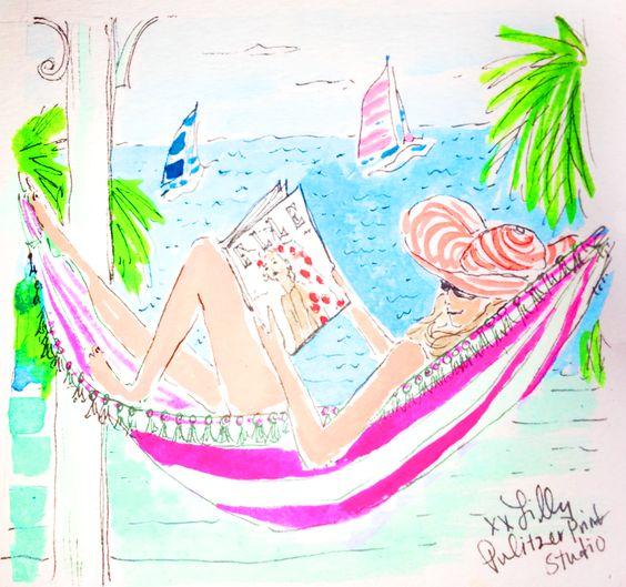 """Illustrations ... pour l'été ... Plage et """"farniente"""" ... D280f310"""