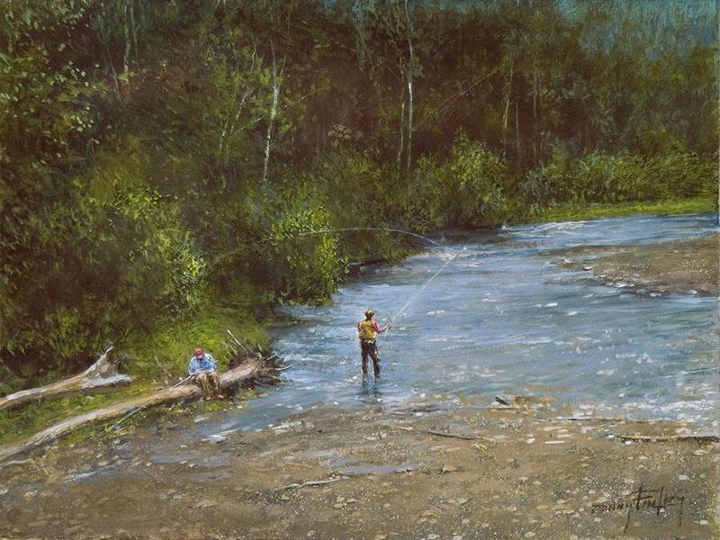 L'eau paisible des ruisseaux et petites rivières  Donny_10