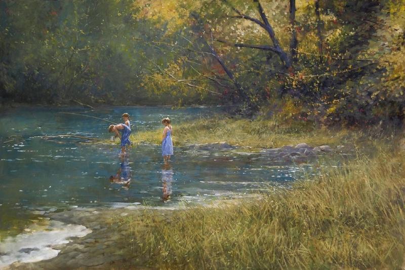 L'eau paisible des ruisseaux et petites rivières  Donny_11