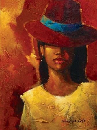 """Des élégantes  """"chapeautées"""" ... - Page 2 Kanayo10"""