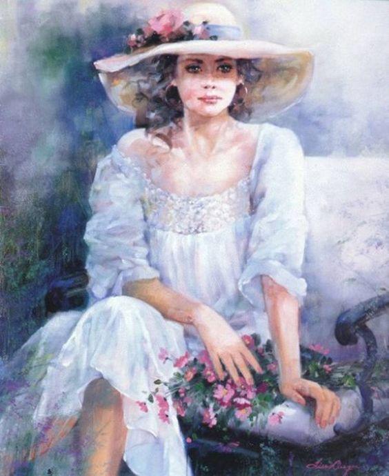 """Des élégantes  """"chapeautées"""" ... Lise_a10"""
