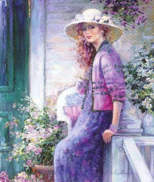 """Des élégantes  """"chapeautées"""" ... Lise_a13"""