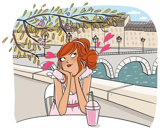 """Illustrations ... pour l'été ... Plage et """"farniente"""" ... Magali13"""