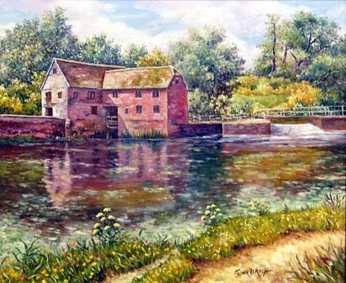 L'eau paisible des ruisseaux et petites rivières  Sturmi10