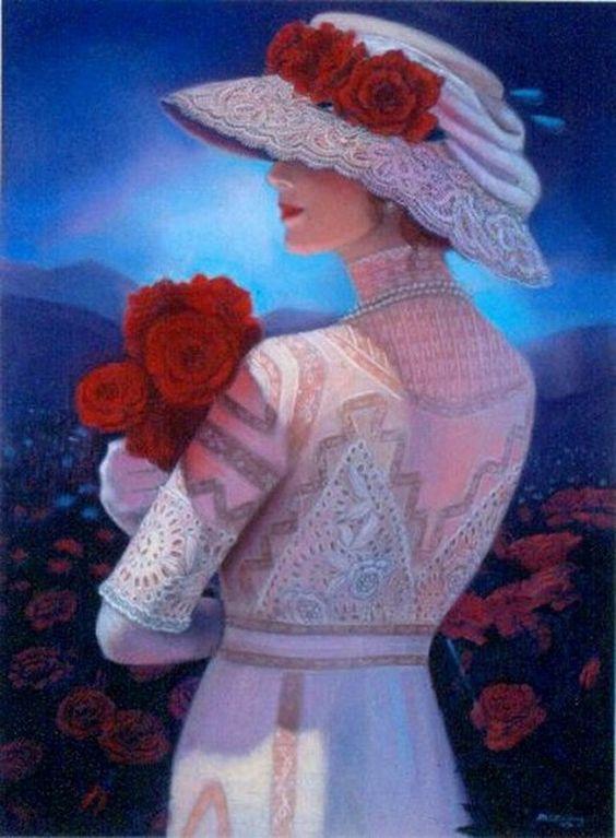 """Des élégantes  """"chapeautées"""" ... Sue_ha11"""