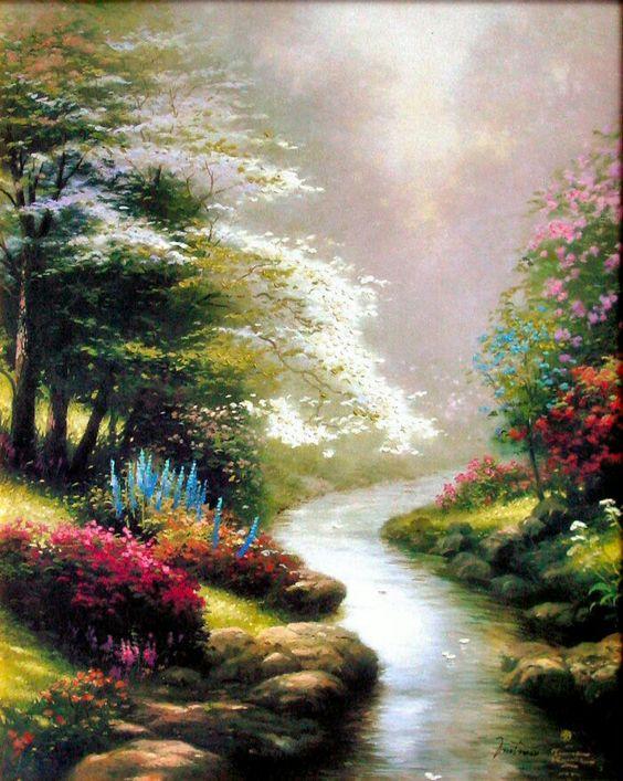 L'eau paisible des ruisseaux et petites rivières  Thomas10