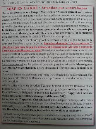 L'Armure Spirituelle en version française telle que révélée à Enoch de Colombie ! Sans-t23
