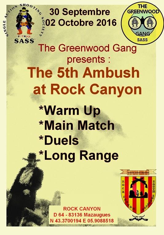 L'AMBUSH N'A PLUS LIEU À GREENWOOD CREEK MAIS A ROCK CANYON Image11