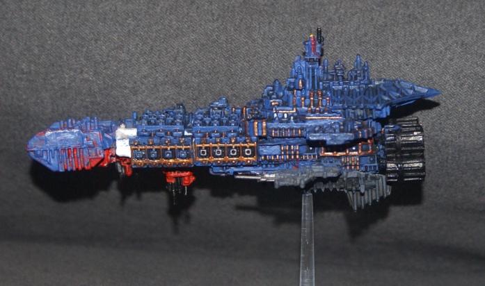 [SM-Ultramarine] Flotte pré hérésie Ultramarine (avant la trahison de Calth) Dsc04213