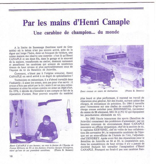 CANAPLE Henri  , une histoire du 300 m et une  passion.!! Numyri12