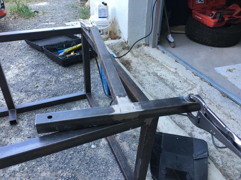 Fabrication chevalet de tir Image29