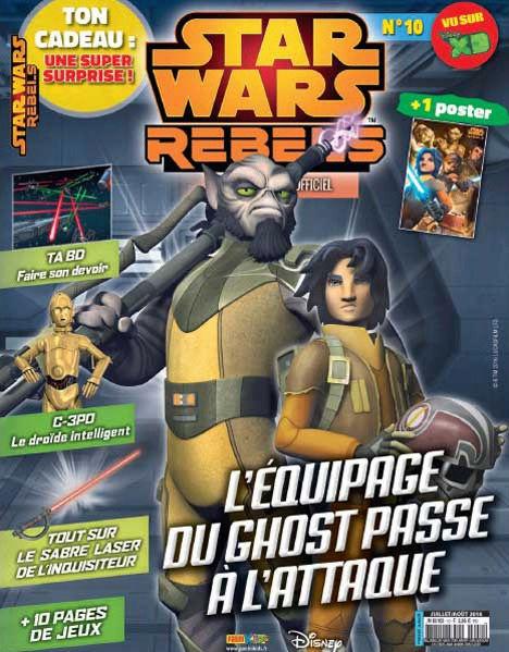 Magazine STAR WARS REBELS #10 Captur11
