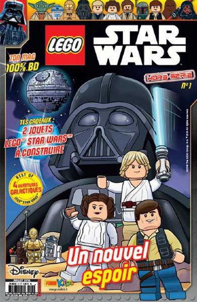 Magazine Panini STAR WARS LEGO #HS1 Captur13