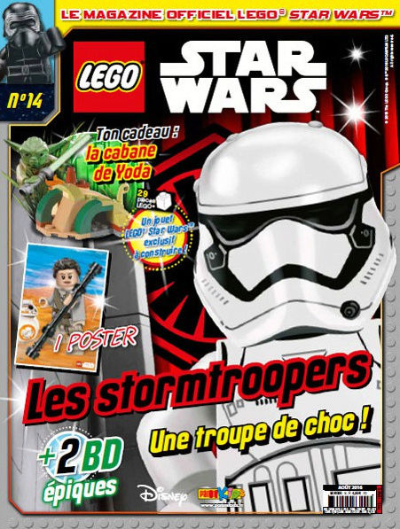 Magazine Panini STAR WARS LEGO #14 Captur15