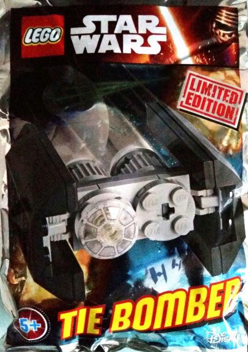 LEGO STAR WARS - 911613 - Mini Tie Bomber Captur17
