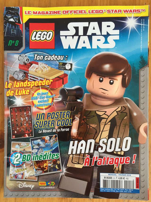 Magazine Panini STAR WARS LEGO #8 Img_7211