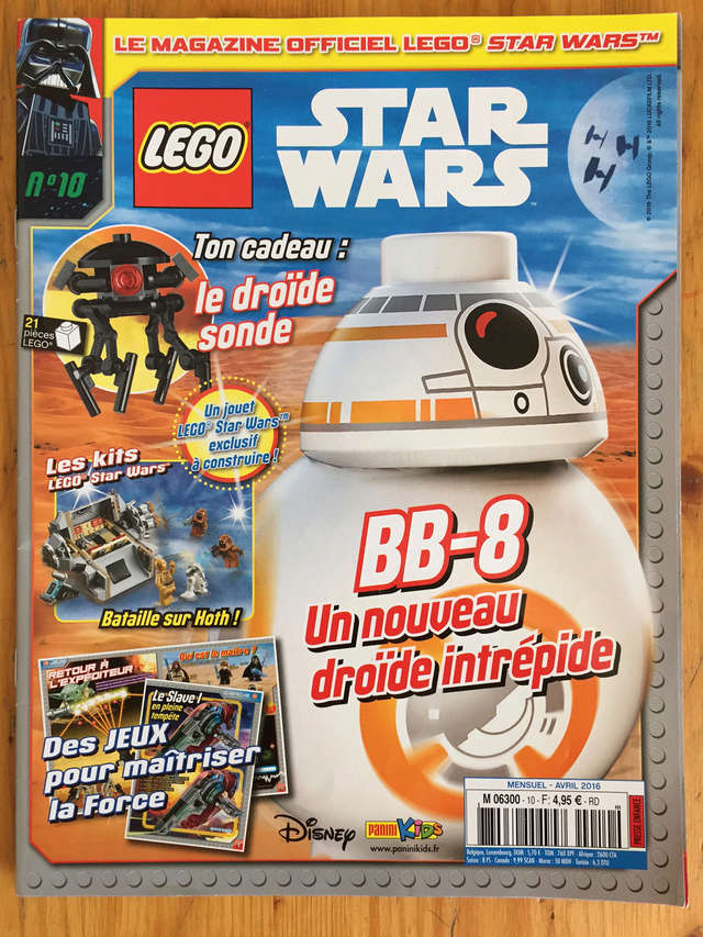 Magazine Panini STAR WARS LEGO #10 Img_7213