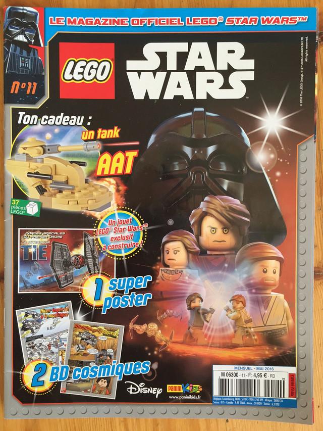 Magazine Panini STAR WARS LEGO #11 Img_7215