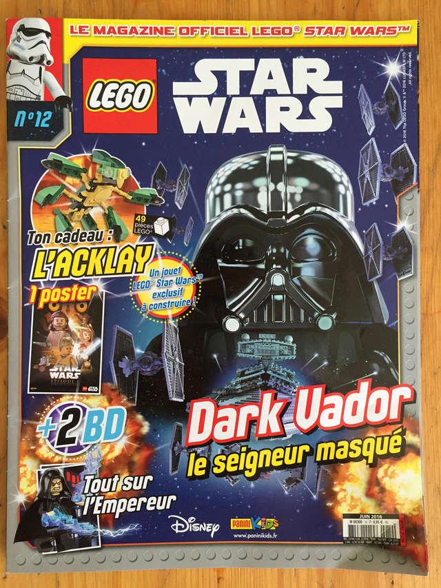 Magazine Panini STAR WARS LEGO #12 Img_7216