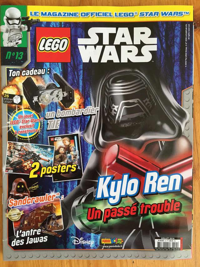 Magazine Panini STAR WARS LEGO #13 Img_7217