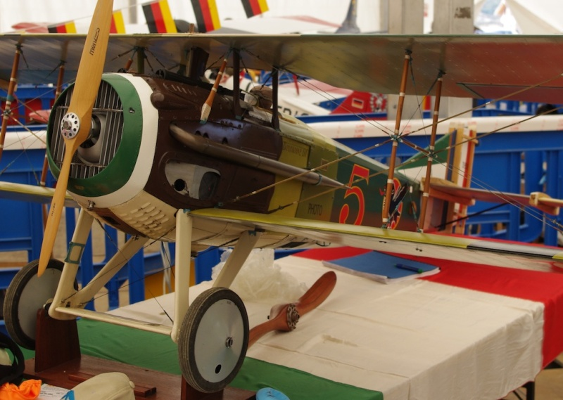 championnat du monde maquette Spad-w10