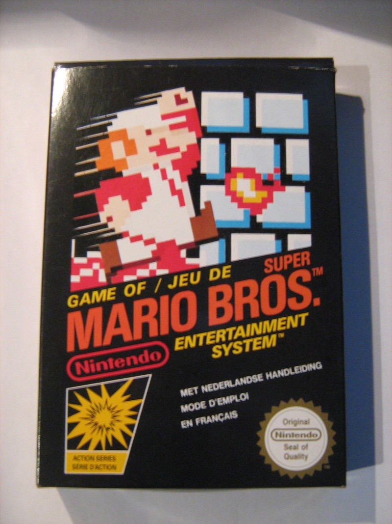 Ma collection mario : blister/console/jeux RARE et LIMITED (NEW 8/06) - Page 5 04110