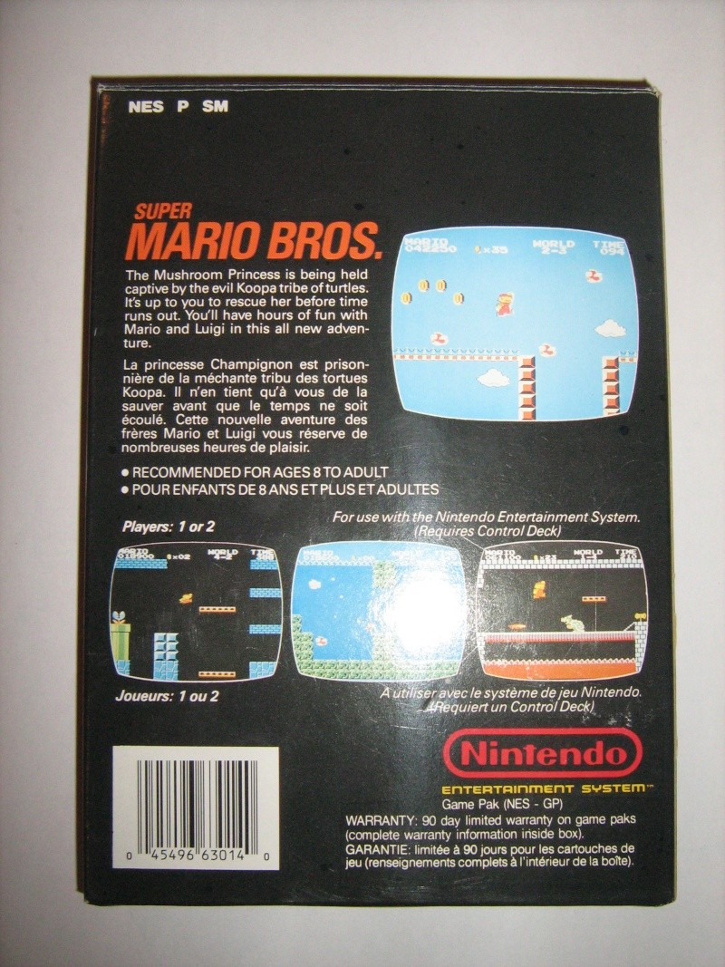 Ma collection mario : blister/console/jeux RARE et LIMITED (NEW 8/06) - Page 5 04510