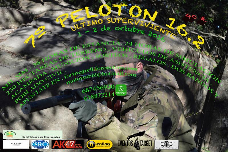 7º PELOTON.16.2 ultimo superviviente  Poster10