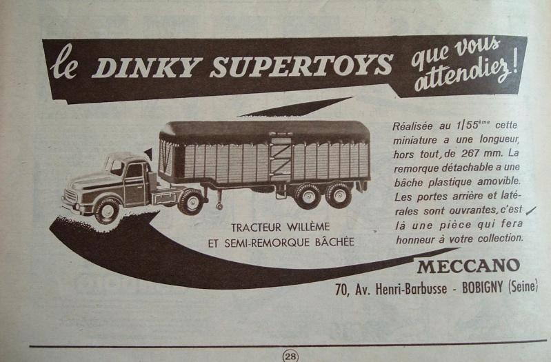 Les pubs d'époque de nos jouets..... Dinky_10
