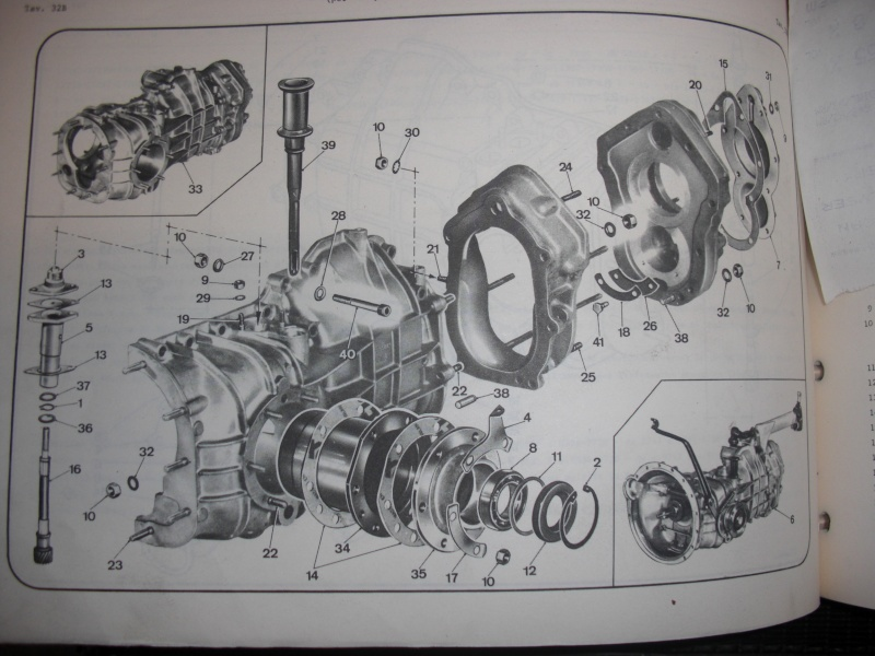blocco cambio 5 marce  fulvia hf prima serie Cimg4913