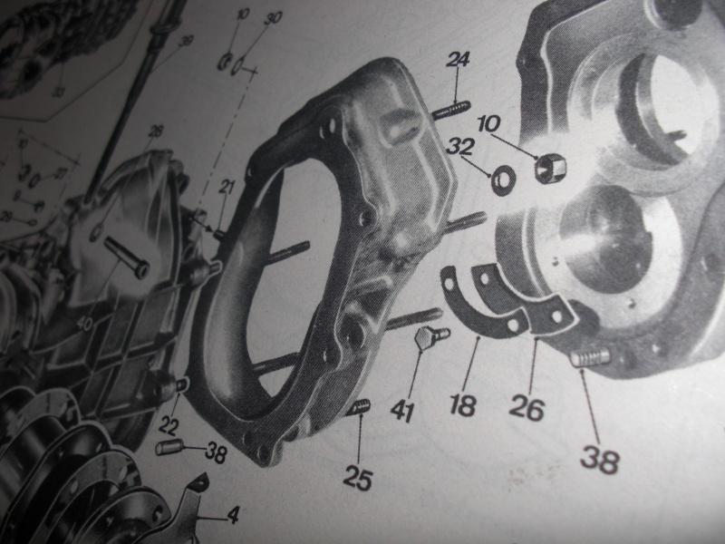 blocco cambio 5 marce  fulvia hf prima serie Cimg4917