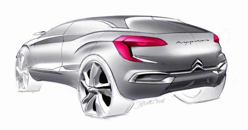 2008 - Comment est né le concept car Citroën Hypnos Citroe13