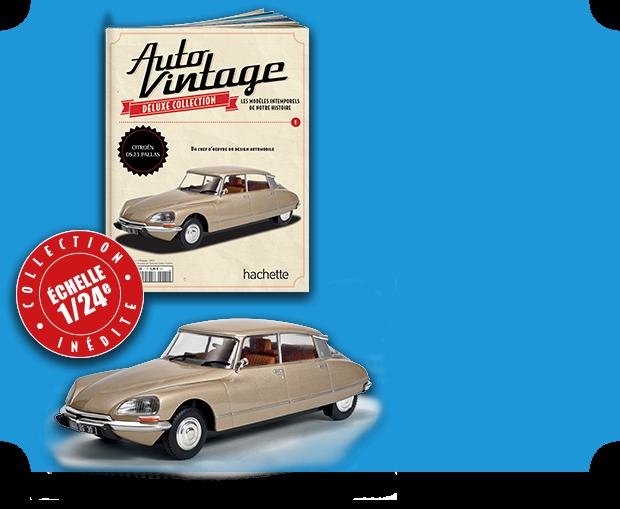"""2015 - Hachette Collections > """"Auto Vintage"""" au 1/24 >> 2016  Presen10"""