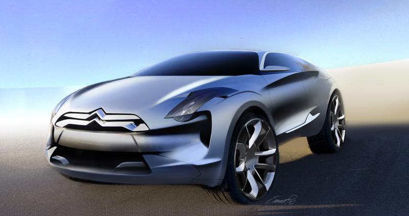 2008 - Comment est né le concept car Citroën Hypnos S0-cit10