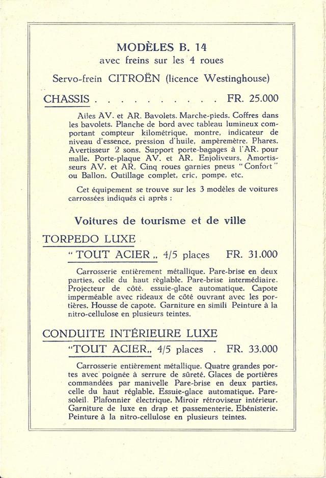 PUBLICITES D'EPOQUE B14 Tarif_11