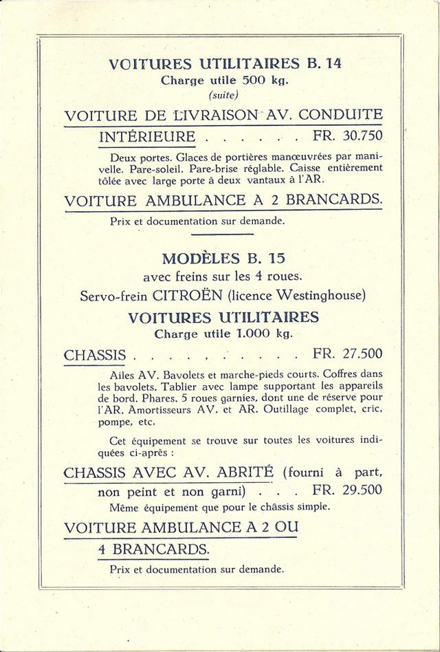 PUBLICITES D'EPOQUE B14 Tarif_13