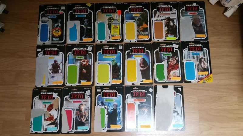 My humble vintage Star Wars Collection 20160410