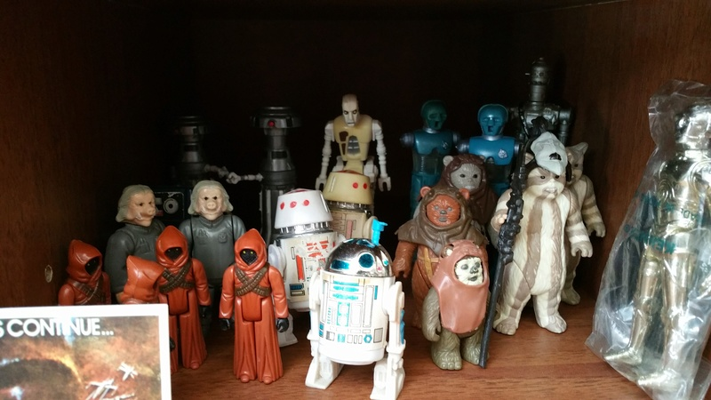 My humble vintage Star Wars Collection 20160710