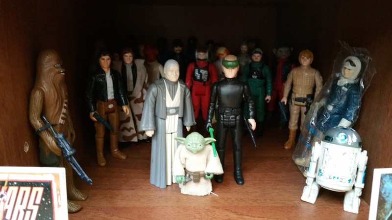 My humble vintage Star Wars Collection 20160714
