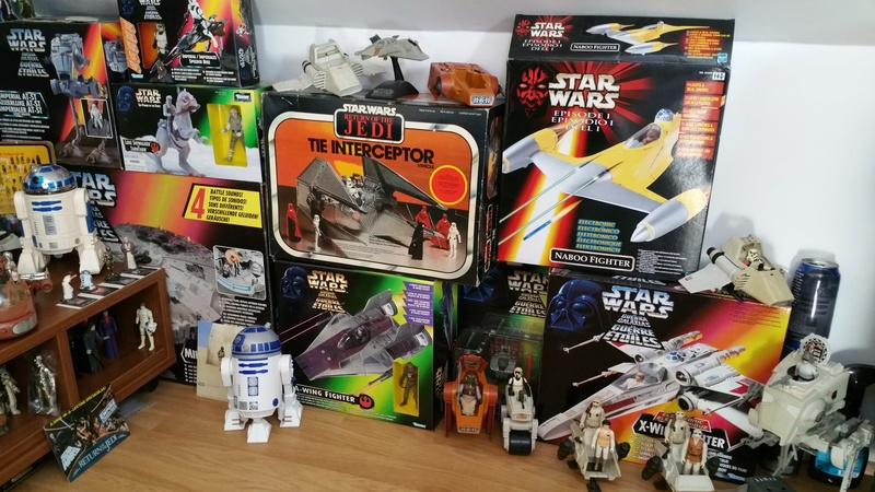 My humble vintage Star Wars Collection 20160717