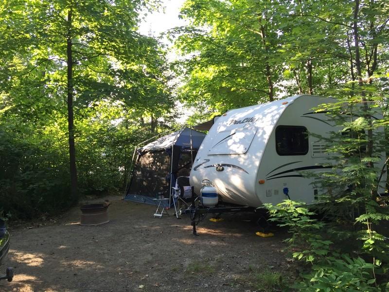 Camping LE PARC DE L'îLE MELVILLE (Shawinigan) Img_3112