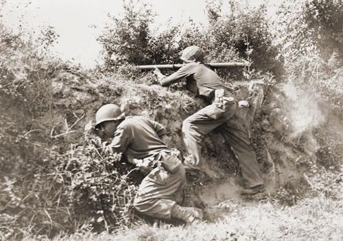 Bataille dans le Bocage Normand - techniques et tactiques Trapba10