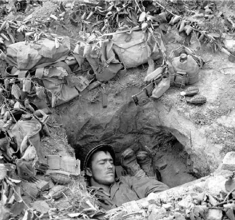 Bataille dans le Bocage Normand - techniques et tactiques Tumblr10