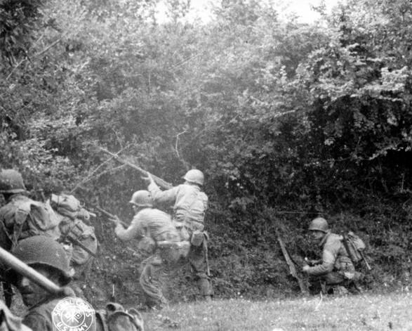 Bataille dans le Bocage Normand - techniques et tactiques U_s_ar10