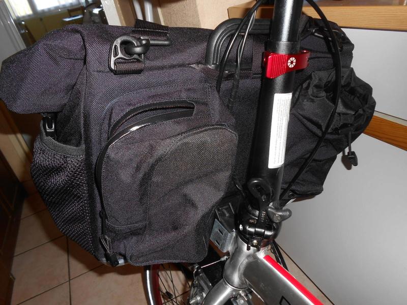 Modifier le bloc de fixation de la bagagerie Brompton pour le monter sur un autre vélo Dscn6021