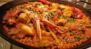 La Paëlla royale en 1 heure de préparation et cuisson Paella10